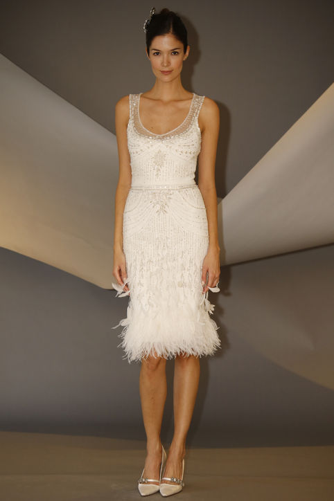 Feather Flurry: Bridal Trends 2014 - Elope in Paris