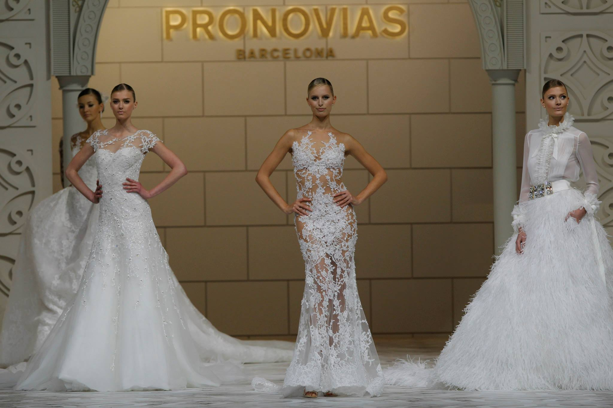 Pronovias 2015 fashion show - 50th Anniversary - Elope in Paris