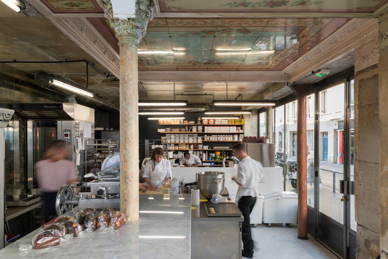 LIBERTƒ La patisserie boulangerie par Benoit Castel 39 Rue des Vinaigriers, 75010 Paris © Christophe Caudroy/J'adore ce que vous faites