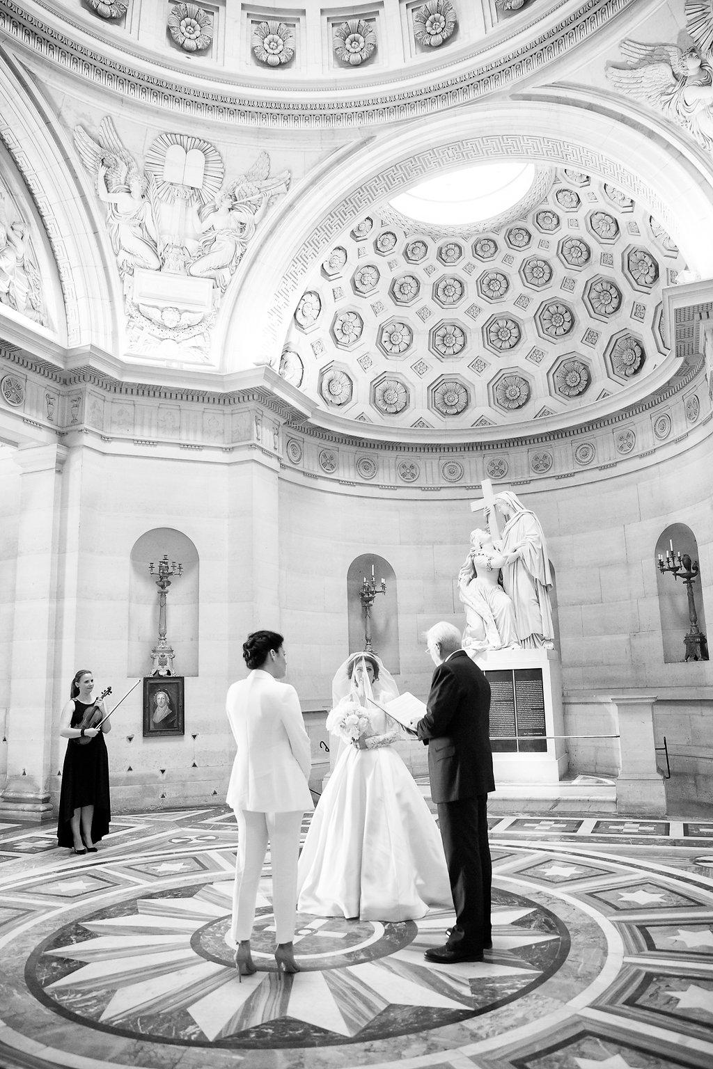 chapelle expiatoire wedding paris elopement