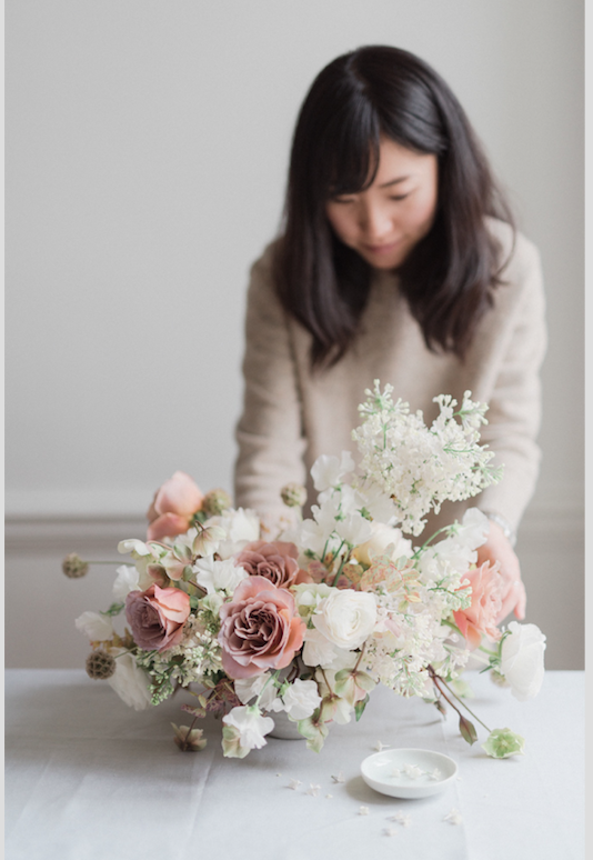 akiko paris wedding flowers